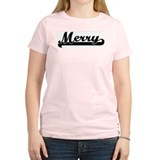 Black jersey: Merry Women's Pink T-Shirt