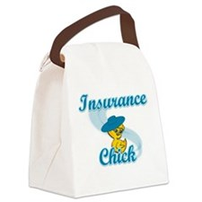 Insurance Chick #3 Canvas Lunch Bag