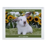 Sacramento House Rabbit Society Wall Calendar