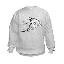 Tornado Football Player Sweatshirt