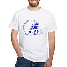 Blue Football Helmet Shirt