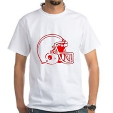 Red Football Helmet Shirt