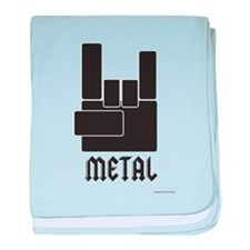 Metal Rocks! baby blanket