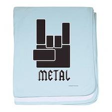 Metal Rocks! baby blanket