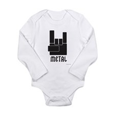Metal Rocks! Long Sleeve Infant Bodysuit