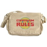 Capitalism Rules Messenger Bag
