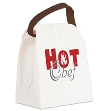 Hot Chef Canvas Lunch Bag