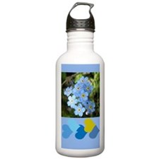 Forget-Me-Not Water Bottle