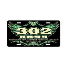 Boss 302 Aluminum License Plate