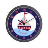 Little Sailboat - Daniel Wall Clock