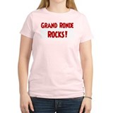 Grand Ronde Rocks Women's Pink T-Shirt