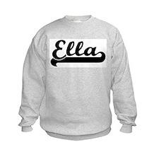 Black jersey: Ella Sweatshirt