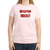 Brighton Rocks Women's Pink T-Shirt