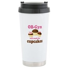 OB-Gyn Funny Ceramic Travel Mug