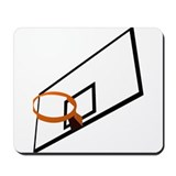 Basketball Goal Mousepad