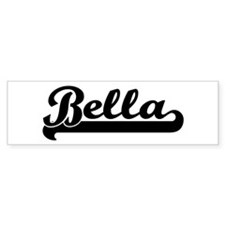 Black jersey: Bella Bumper Bumper Sticker