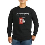 F1B Austin front Long Sleeve T-Shirt