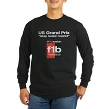 F1B Austin front Long Sleeve T-Shirt