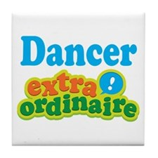 Dancer Extraordinaire Tile Coaster