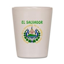 El Salvador Coat of arms Shot Glass
