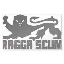 Ragga Scum Decal