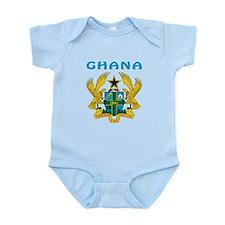 Ghana Coat of arms Infant Bodysuit