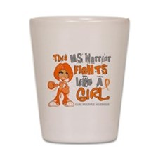 Fights Like a Girl 42.9 MS Shot Glass