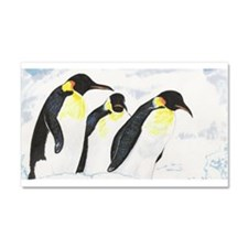 Penguins- God's Creatures Car Magnet 12 x 20