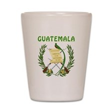 Guatemala Coat of arms Shot Glass