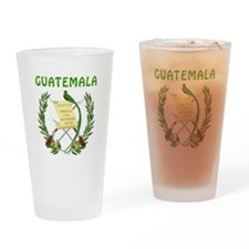 Guatemala Coat of arms Drinking Glass