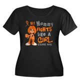 Fights Like a Girl 42.9 MS Women's Plus Size Scoop