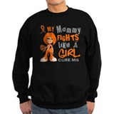Fights Like a Girl 42.9 MS Sweatshirt