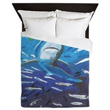 Shark 6.JPG Queen Duvet