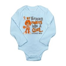 Fights Like a Girl 42.9 MS Long Sleeve Infant Body
