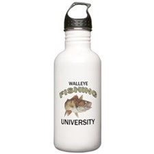 Walleye Fishing University Water Bottle