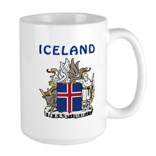Iceland Coat of arms Mug