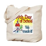 100th Day Schoolhouse Tote Bag