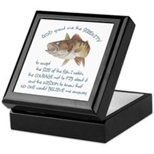 A Fishermans Prayer Keepsake Box