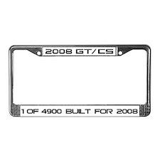 License Plate Frame for 2008 GT/CS
