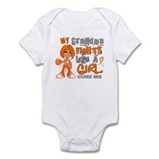 Fights Like a Girl 42.9 MS Onesie