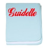 Guidette baby blanket