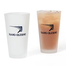 Hang Gliding Drinking Glass