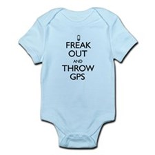 Freak Out and Throw GPS Infant Bodysuit
