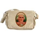 General Dayton Tobacco Label Messenger Bag