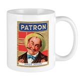 Old-Time Patron Label Coffee Mug
