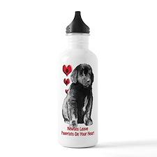 Newfy Puppy Pawprints Water Bottle