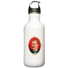 Handlebar Mustache Crest Water Bottle