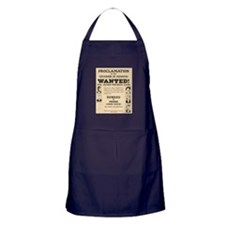 James Younger Gang Wanted Apron (dark)
