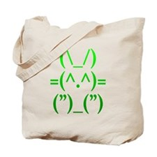 Ascii Rabbit Tote Bag