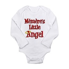 Memeres Little Angel Long Sleeve Infant Bodysuit